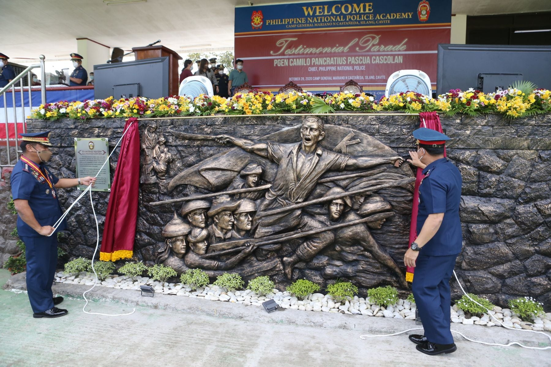 CPNP INAUGURATES VARIOUS PNPA PROJECTS