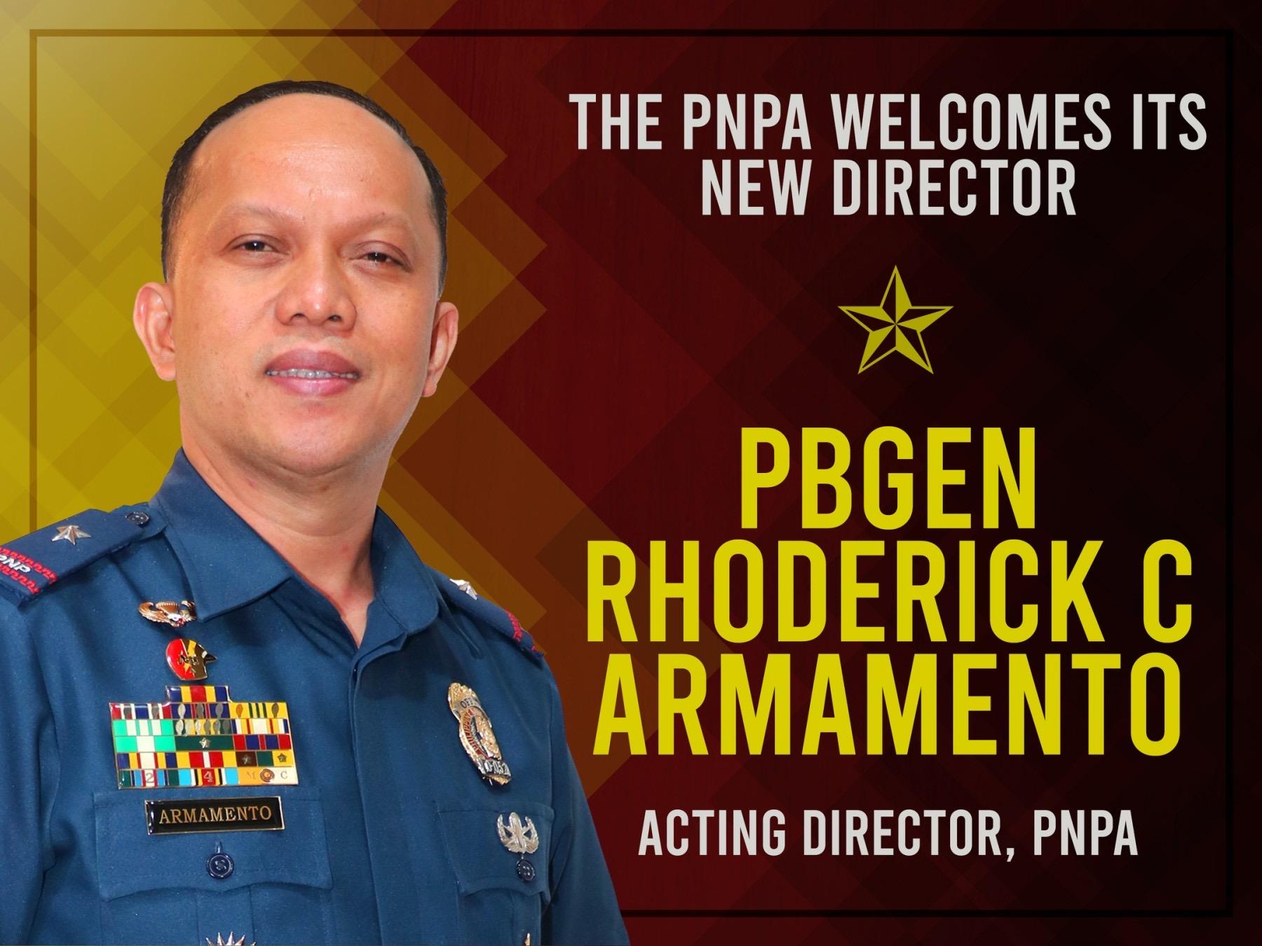 NEW PNPA DIRECTOR's PRIORITY PROGRAMS
