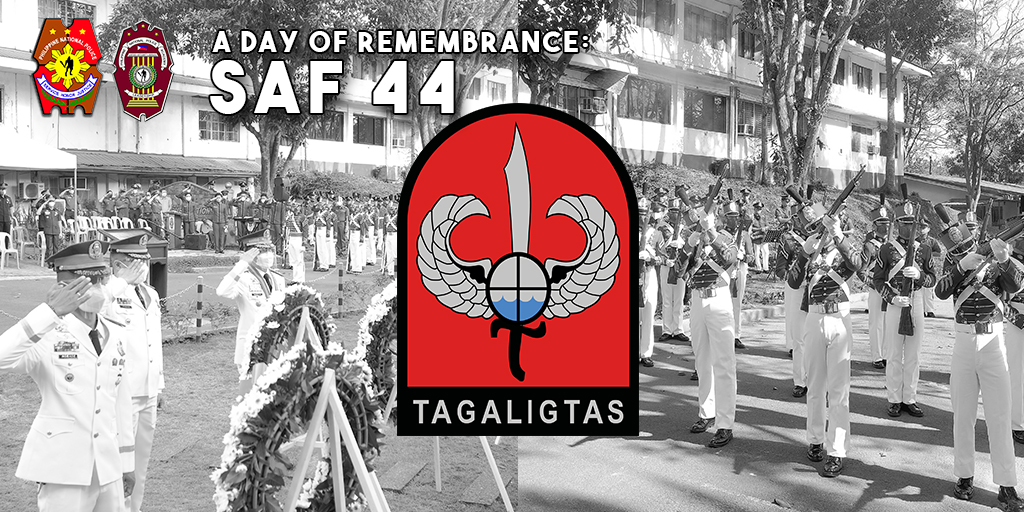 GALLANT SAF 44 HONORED