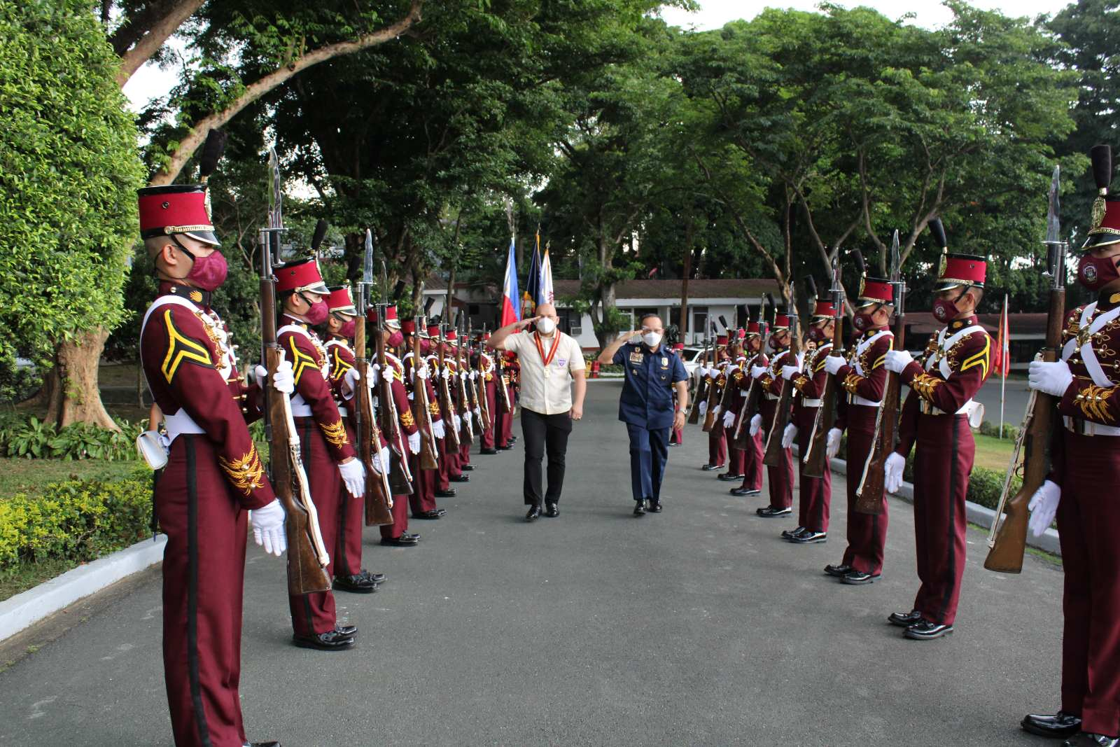 "Visit of Cong. Jorge Antonio ""PATROL"" Bustos of PNPA KAAGAPAY CLASS OF 1996"